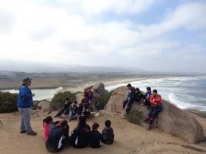 En Punta Teatinos y Totoralillo alumnos aprenden sobre conservación de flora en peligro de extinción